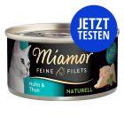 Probierpaket Miamor Feine Filets Naturelle 12 x 80 g