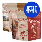 Probierpaket Purizon Hundesnack 2 x 100 g