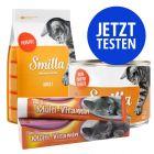 Probierpaket Smilla, Trocken- und Nassnahrung + Paste