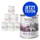 Probierpaket Wolf of Wilderness 6 x 800 g