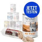 Probierpaket Wolf of Wilderness 6 x 400 g