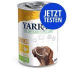 Probierpaket Yarrah Bio Huhn Hundefutter