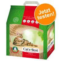 Probierpreis: 5 l Cat's Best Öko Plus / Original Katzenstreu
