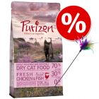 Probierset! Purizon Kitten 400 g + Federwedel