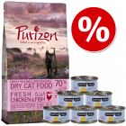 Probni set za mačiće: Purizon 400 g  & Cosma Nature 6 x 70 g