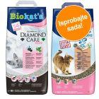 Probno pakiranje: 2 x 10 l Biokat's Diamond Care pijesak za mačke