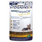 ProDen PlaqueOff Dental Croq snacks de higiene dentária para cães e gatos