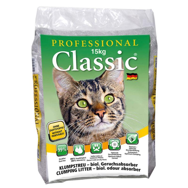 Professional Classic -kissanhiekka hajuneutralisoijalla