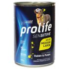 Prolife Grain Free Adult Sensitive Medium/Large Coniglio