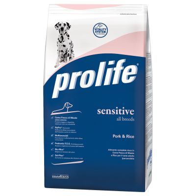 Prolife Sensitive Maiale & Riso