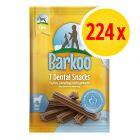 PROMO: Pack 224 uds. Barkoo Dental Snacks para perros