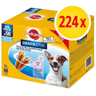 PROMO: Pack 224 uds. Pedigree Dentastix snacks para perros