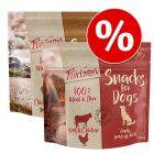 Promotivna mješavina Purizon Snacks za pse 2 x 100 g