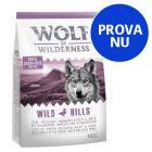 Prova Wolf of Wilderness torrfoder för hund!