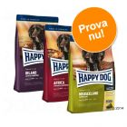 Provpack: Happy Dog Culinary World Tour, 3 x 4 kg