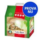 Provpack: 5 l Cat's Best Öko Plus / Original kattströ