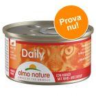 Provpack: 6 x 85 g Almo Nature Daily Menu