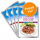 Provpack: 8 x 100 g Stuzzy Cat 4 sorter i portionspåse