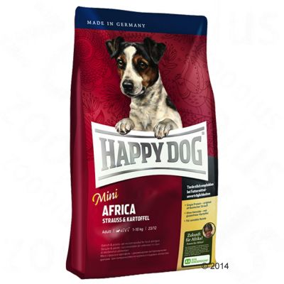 Provpack: 3 x 4 kg Happy Dog Supreme Mini!