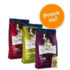 Provpack: 3 x 4 kg Happy Dog Supreme Mini!