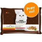 Prøvepakke: Gourmet A la Carte 4 x 85 g