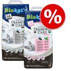 Prøvepakke: 10 l Biokat´s DIAMOND CARE Fresh + 10 l Classic kattegrus