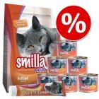 Prøvepakke: Smilla tør- og vådfoder + kattepasta