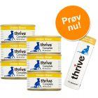 Prøvepakke: Thrive vådfoder & snacks