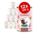Prøvepakke: 6 x 400 g GranataPet Liebling's Mahlzeit