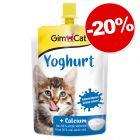 Pudding/Yaourt Gimpet : 20 % offerts !