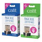 Purificador de ar Catit Magic Blue para caixas de areia fechadas