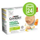 Purina Gourmet Nature's Creation Mousse 24 x 85 g - Pack económico