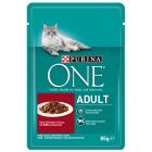 Purina ONE Adult mit Rind & Karotten
