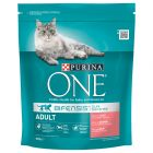 Purina ONE Adult Salmon & Whole Grains Dry Cat Food