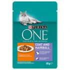 Purina ONE Coat & Hairball 6 x 85g