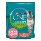 Purina ONE Dual Nature Sterilized Lachs mit Spirulina