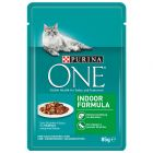 Purina ONE Indoor Formula, 12 x 85 g