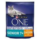 Purina ONE Senior 7+ Chicken & Whole Grains Dry Cat Food