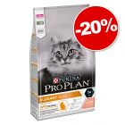 PURINA PRO PLAN Elegant Adult riche en saumon 1,5 kg : 20 % de remise !