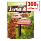 PURINA AdVENTuROS Nuggets pour chien 300 g + 300 g offerts !