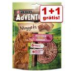 Purina AdVENTuROS Nuggets snacks 2 x 300 g em promoção: 1 + 1 grátis!