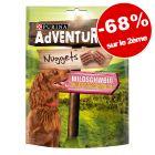 PURINA AdVENTuROS Nuggets 2 x 300 g : 68 % de remise sur le 2ème paquet !