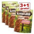 Purina AdVENTuROS Nuggets 4 x 300 g snacks en oferta: 3 + 1 ¡gratis!