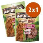 Purina AdVENTuROS Nuggets 2 x 300 g snacks para perros en oferta: 1 + 1 ¡gratis!