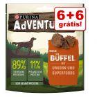 Purina AdVENTuROS snacks 12 x 90 g em promoção: 6 + 6 grátis!
