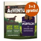Purina AdVENTuROS 6 x 90 g snacks en oferta: 3 + 3 ¡gratis!