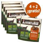 Purina AdVENTuROS 6 x 90 g snacks en oferta: 4 + 2 ¡gratis!