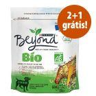 Purina Beyond Bio ração 3 x 800 g em promoção: 2 + 1 grátis!