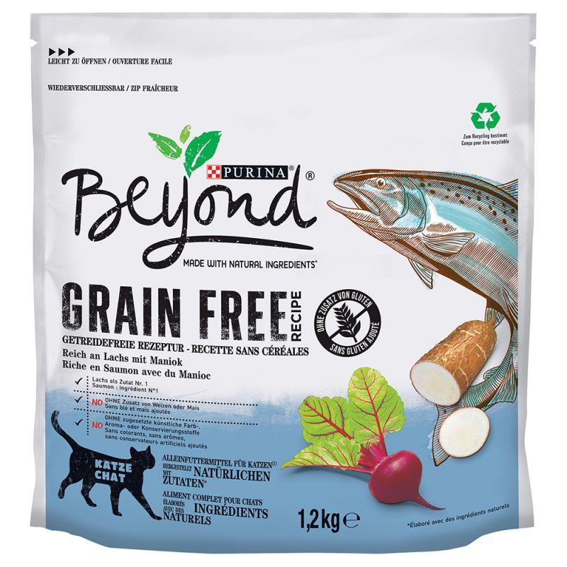 Purina Beyond Grain Free Salmón pienso sin cereales para gatos