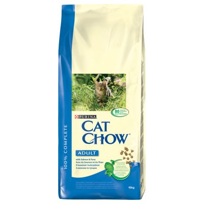 PURINA Cat Chow Adult, saumon & thon